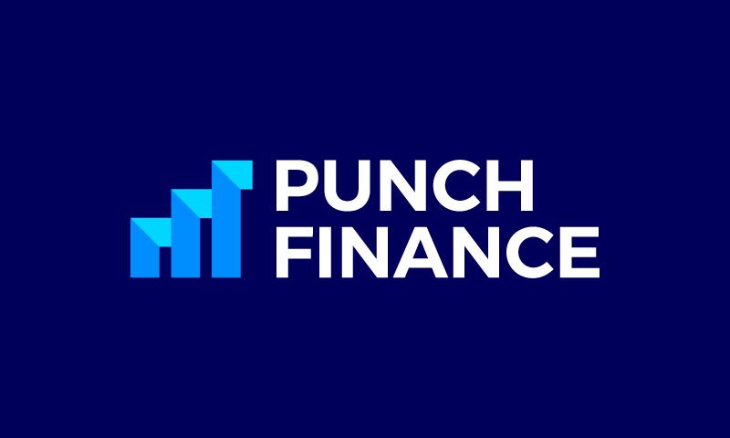 Punchfinance - Finance brand name for sale