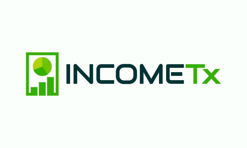 Incometx - Accountancy brand name for sale