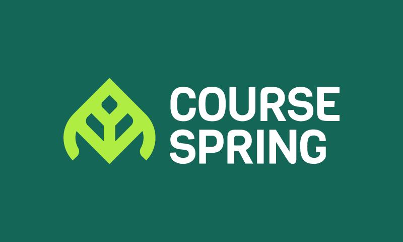 CourseSpring logo