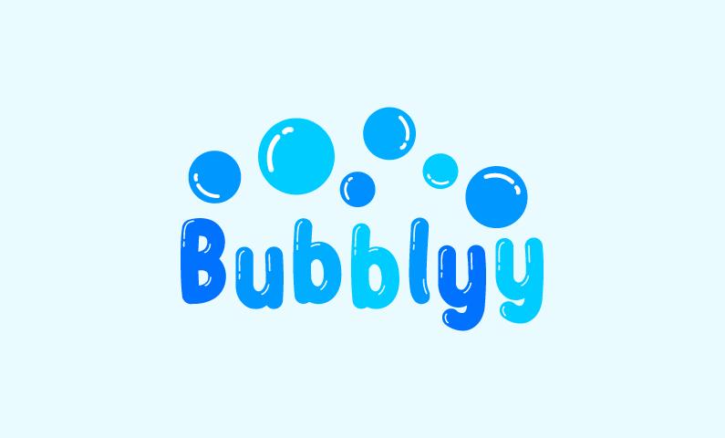 Bubblyy - Media startup name for sale