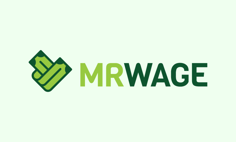 Mrwage - Payment brand name for sale