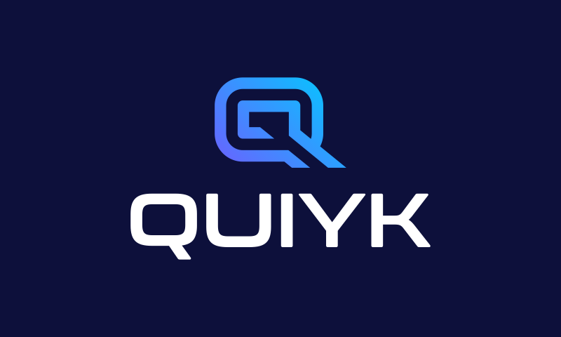 Quiyk - Technology product name for sale