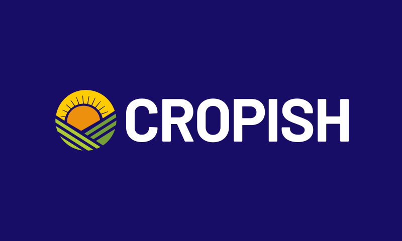 Cropish - Farming company name for sale