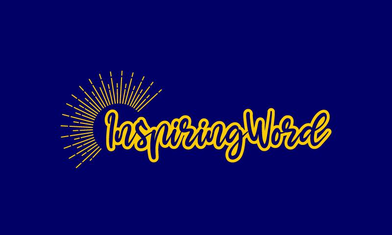 Inspiringword - Religious startup name for sale