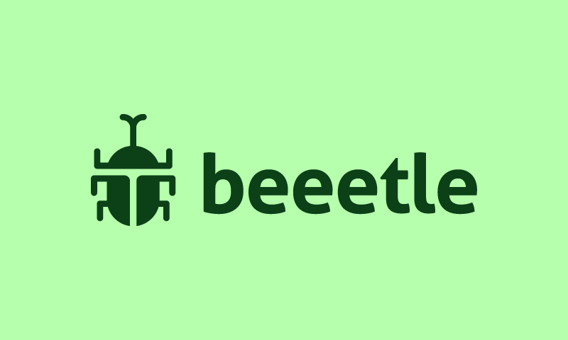 Beeetle - Retail startup name for sale