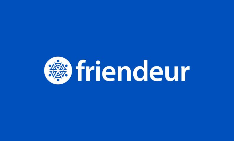 Friendeur - Social networks business name for sale