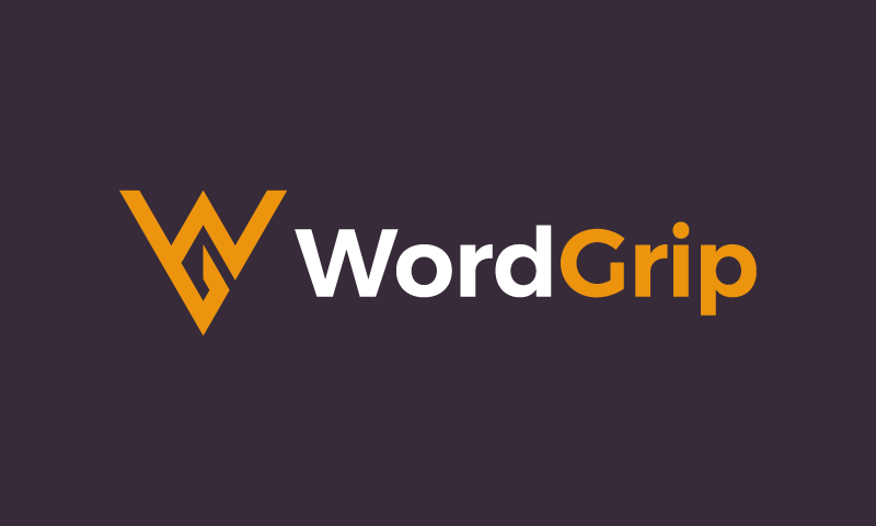 Wordgrip - Possible business name for sale