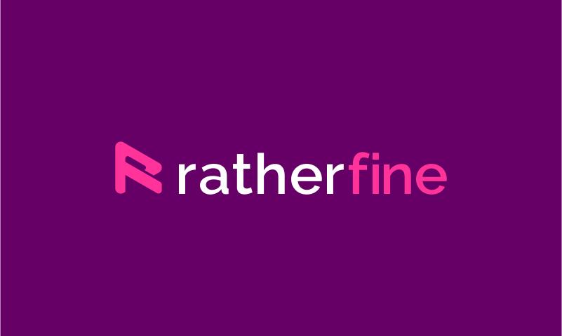 ratherfine logo