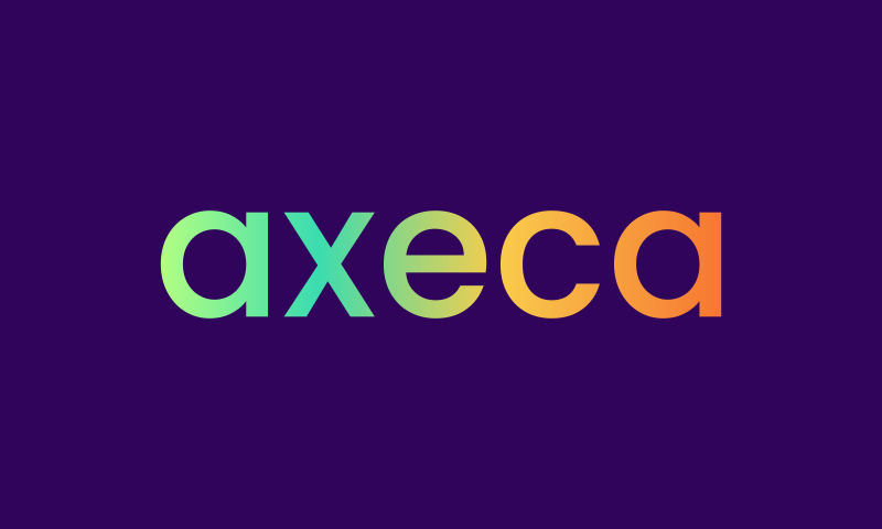 Axeca - Business domain name for sale