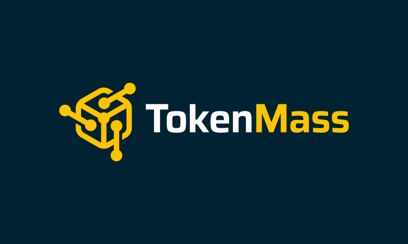 Tokenmass - Contemporary domain name for sale