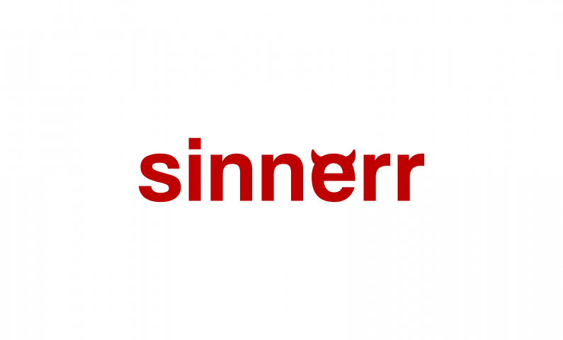 Sinnerr - Dining company name for sale