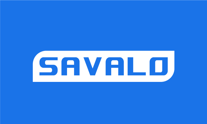 Savalo - Technology startup name for sale