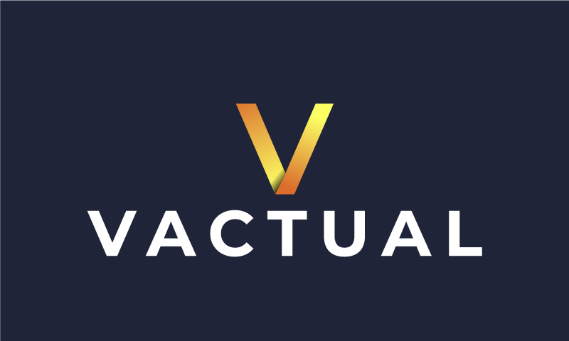 Vactual - Modern business name for sale