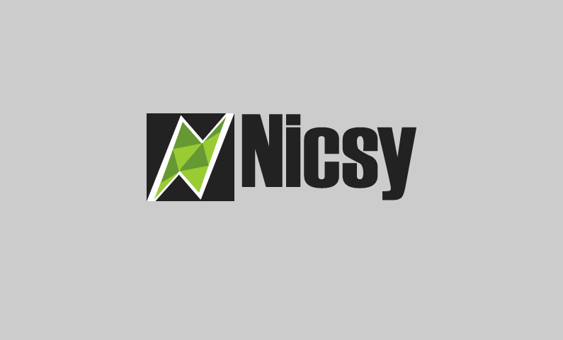 Nicsy - Abstract 5-letter brand name