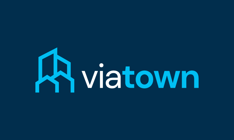 Viatown - Transport startup name for sale
