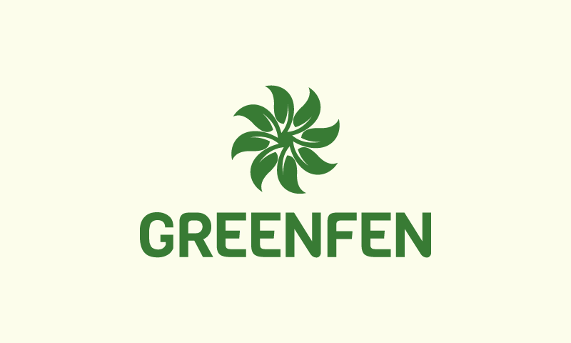 Greenfen - Environmentally-friendly domain name for sale