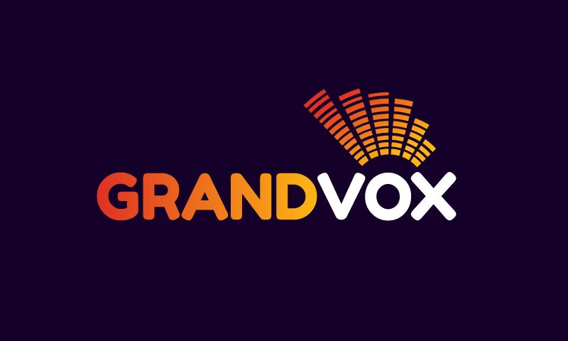 Grandvox - Retail product name for sale