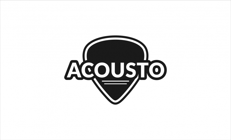 acousto logo - Sound domain name