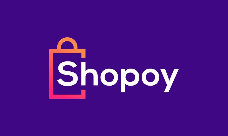 Shopoy - E-commerce domain name for sale