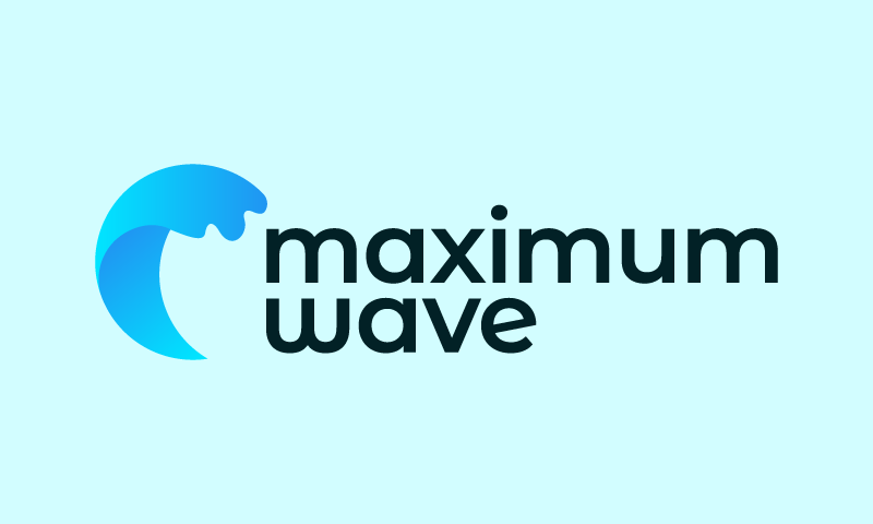 Maximumwave - Potential business name for sale