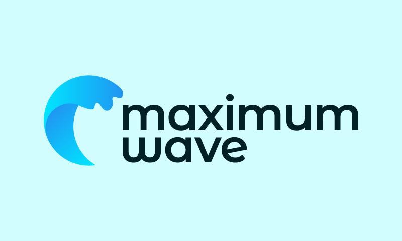 MaximumWave logo
