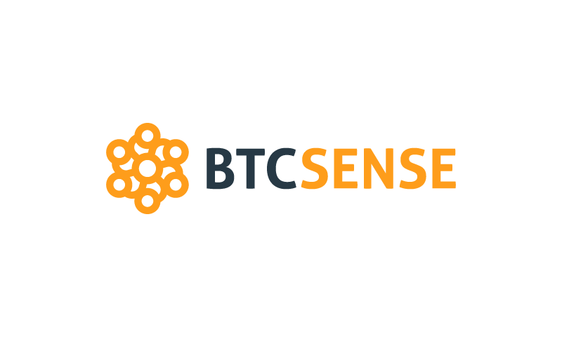 Btcsense - Cryptocurrency startup name for sale