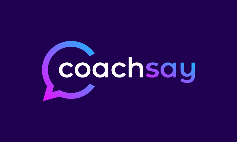 Coachsay - Consulting startup name for sale