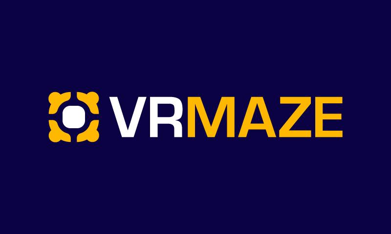 Vrmaze - Virtual Reality brand name for sale