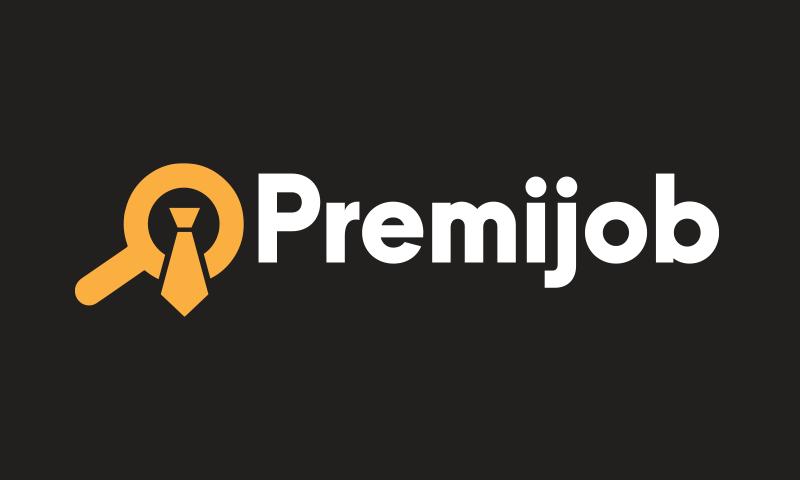 Premijob - Recruitment company name for sale