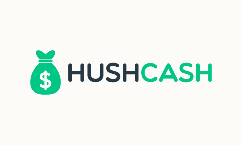 Hushcash - Finance startup name for sale