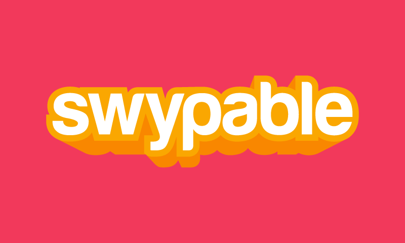 Swypable - Invented startup name for sale