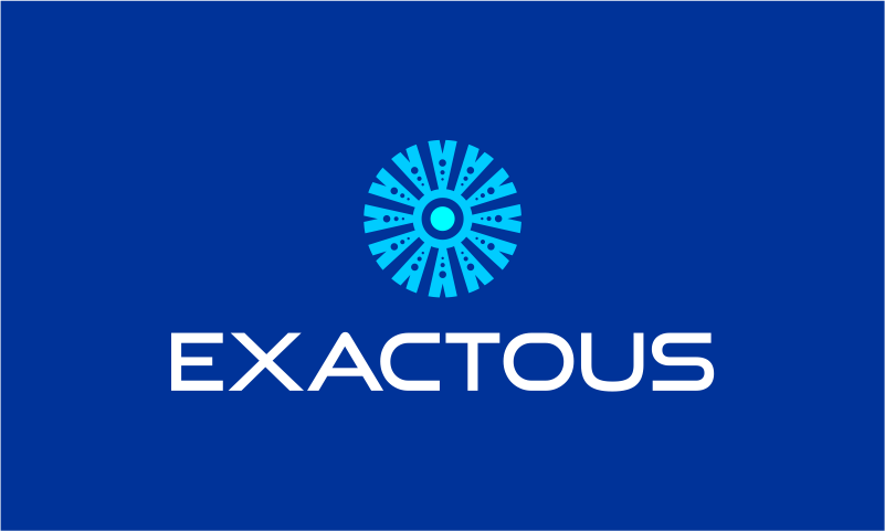 Exactous - Business startup name for sale