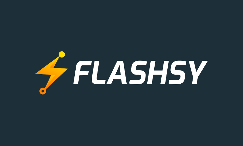 Flashsy - Photography startup name for sale