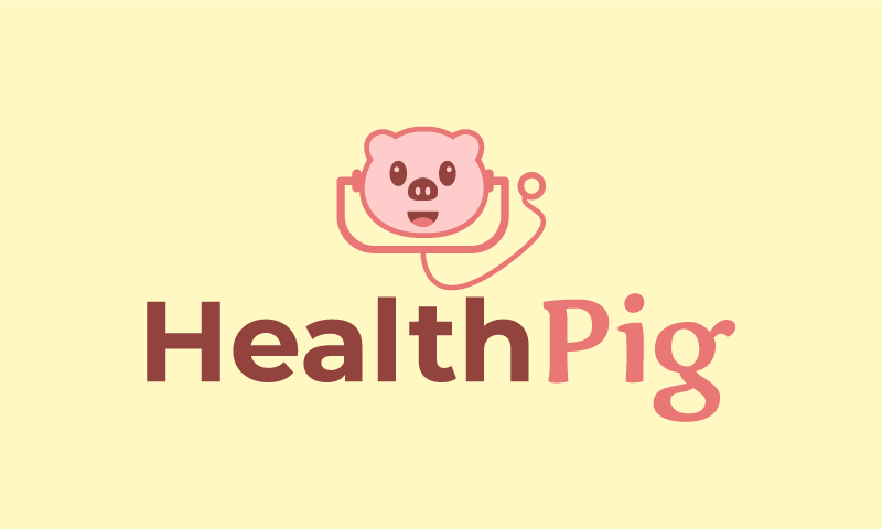 Healthpig - Healthcare startup name for sale