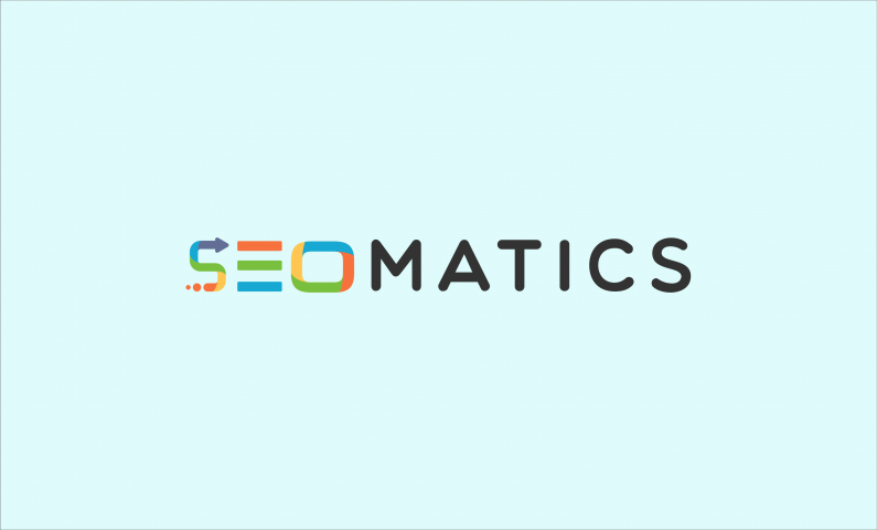 seomatics logo - Ideal SEO domain name