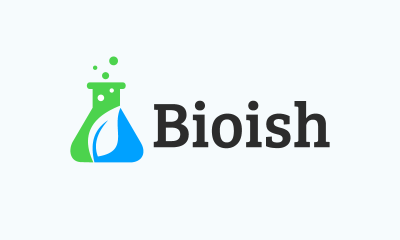 Bioish - Biotechnology startup name for sale
