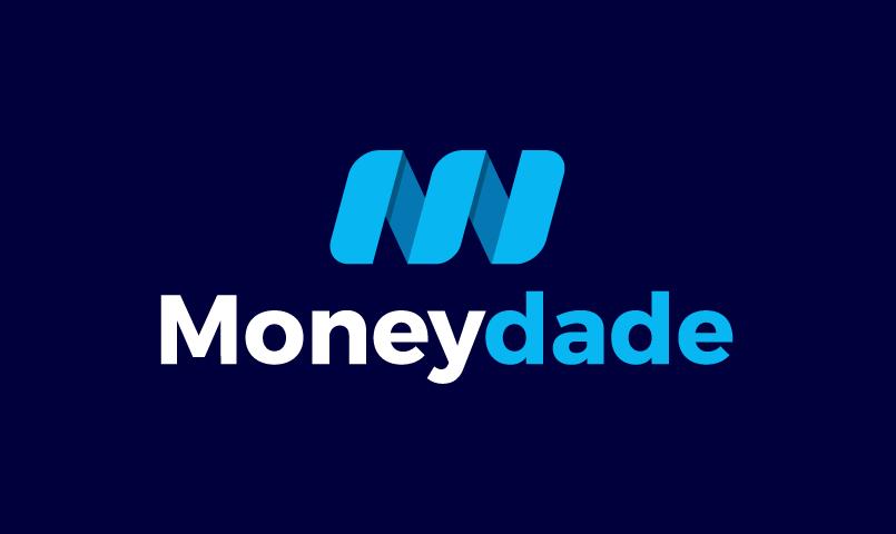 Moneydade - Finance startup name for sale