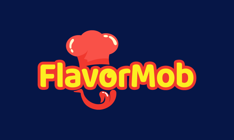 Flavormob - Food and drink business name for sale