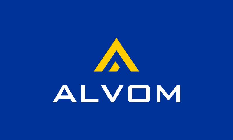 Alvom - Technology startup name for sale
