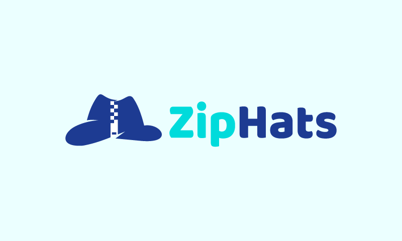 Ziphats - Retail startup name for sale
