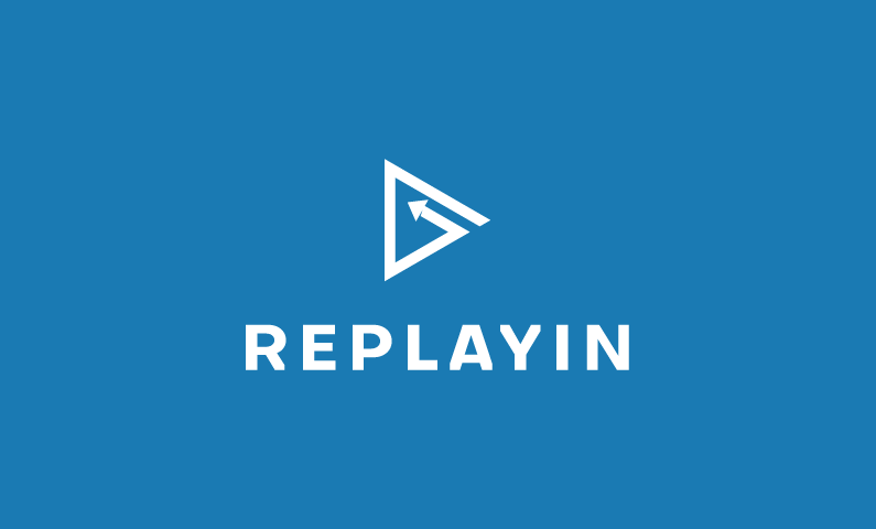 Replayin logo