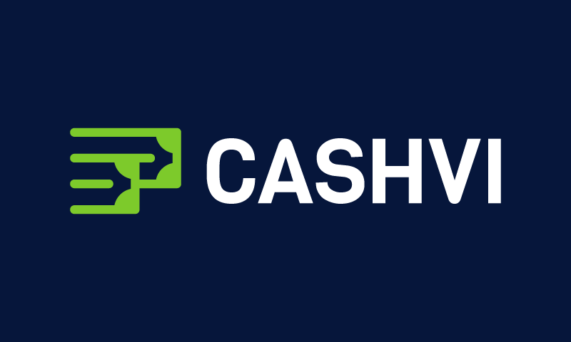 Cashvi - Finance startup name for sale