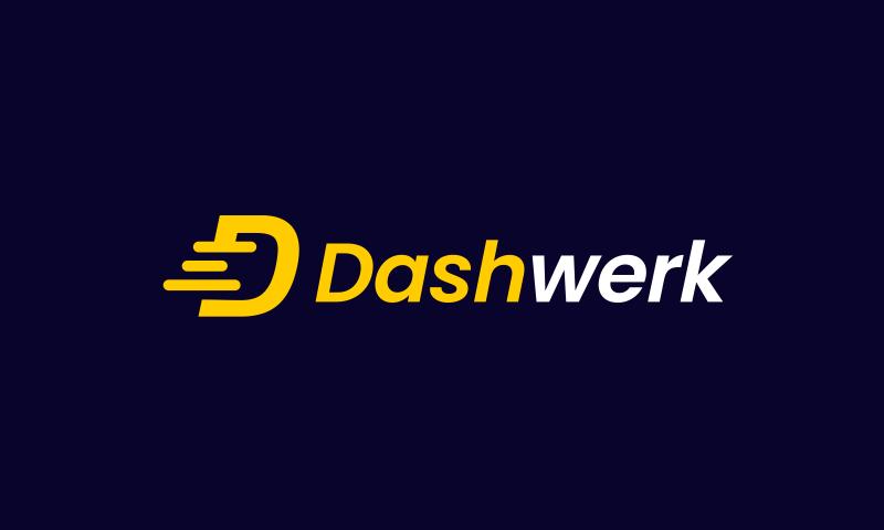 Dashwerk - Retail startup name for sale