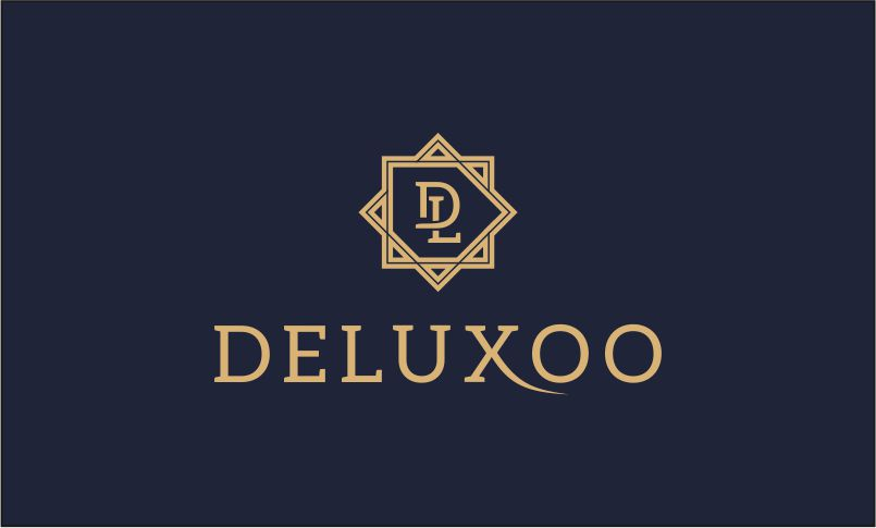 Deluxoo - Contemporary business name for sale
