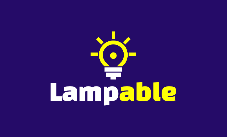 Lampable - Interior design business name for sale