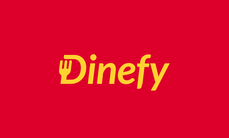 Dinefy - Dining company name for sale