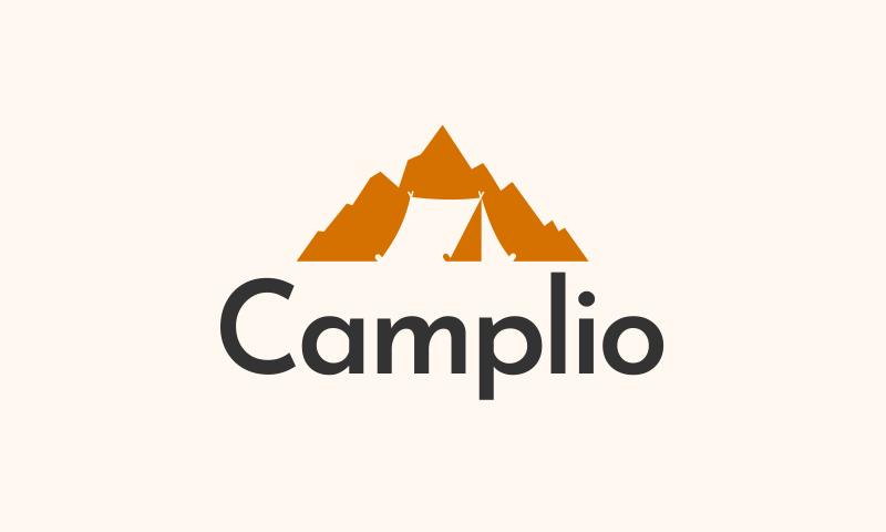 Camplio - E-commerce startup name for sale