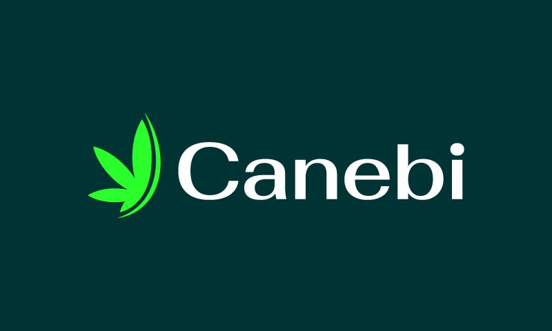 Canebi - Health startup name for sale