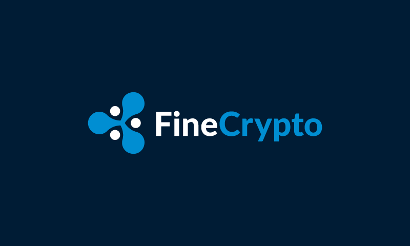 Finecrypto - Cryptocurrency business name for sale