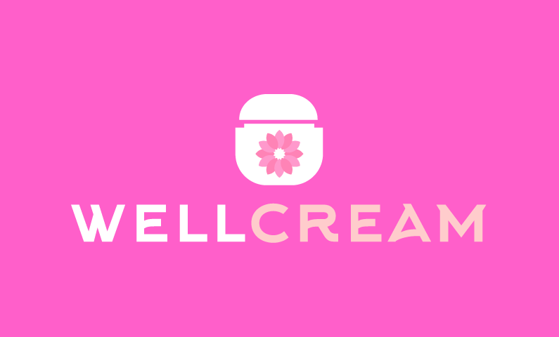 Wellcream - Wellness startup name for sale